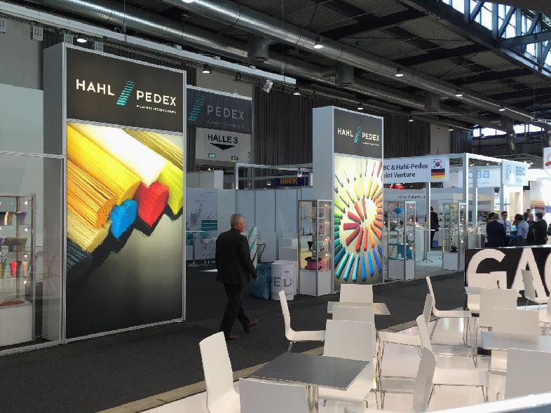 02 - Messe Interbrush Freiburg - Messestand Hahl-Pedex